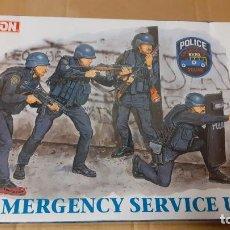 Maquetas: NYPD EMERGENCY UNIT. DRAGON 1/35. Lote 241416950