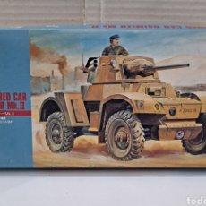 Maquetas: HASEGAWA ARMOURED CAR DAIMLER MK.II NUEVO. INTERIOR PRECINTADO. ESCALA 1/72. 1991. HOBBY KITS.TANQUE. Lote 241460610