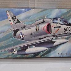 Maquetas: HASEGAWA A-4E/F SKYHAWK. NUEVO. INTERIOR PRECINTADO. ESCALA 1/72. 1992. HOBBY KITS. AVIÓN COMBATE.. Lote 241462460