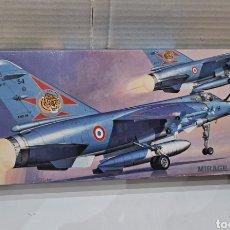Maquetas: HASEGAWA MIRAGE F.1C. NUEVO. INTERIOR PRECINTADO. ESCALA 1/72. 1992. HOBBY KITS. AVIÓN COMBATE.. Lote 241465825