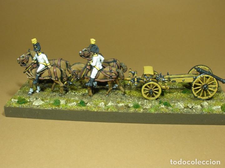 Maquetas: Tren de artillería. Imperio austriaco. Guerras Napoleónicas (1803-1815). Pintado a mano. 28 mm - Foto 2 - 241477095
