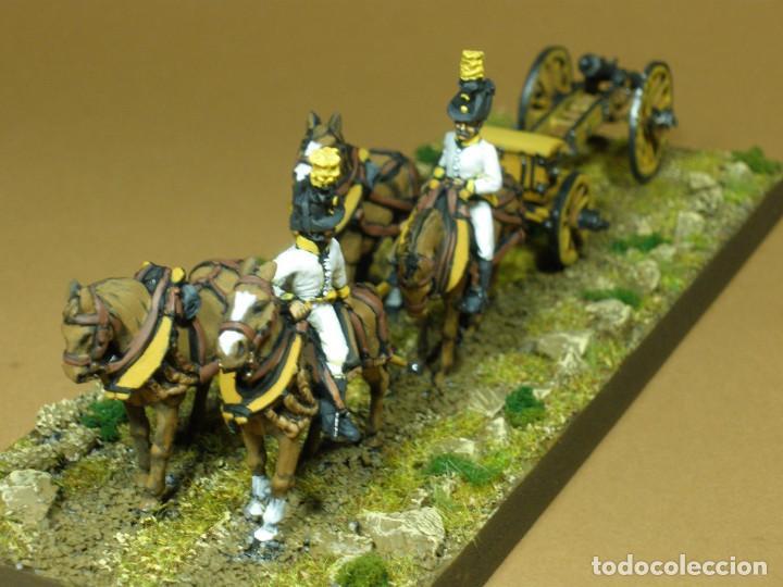 Maquetas: Tren de artillería. Imperio austriaco. Guerras Napoleónicas (1803-1815). Pintado a mano. 28 mm - Foto 3 - 241477095