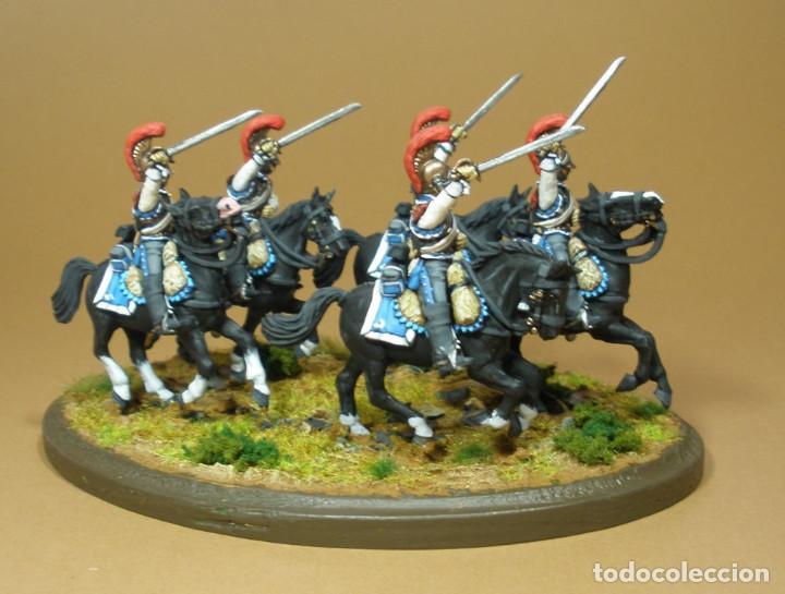 Maquetas: Diorama del 2º Regimiento de Carabineros franceses. Año 1812. Plástico duro. 28 mm - Foto 2 - 241478140