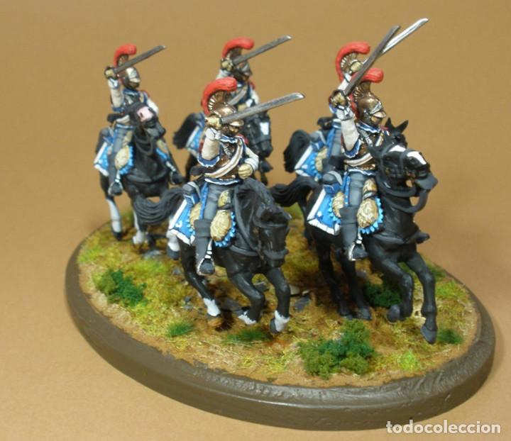 Maquetas: Diorama del 2º Regimiento de Carabineros franceses. Año 1812. Plástico duro. 28 mm - Foto 3 - 241478140