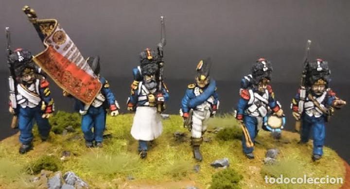 Maquetas: Conjunto de seis granaderos de infanteria de la guardia imperial. Pintados a mano. Metal blando. 28 - Foto 2 - 241478710