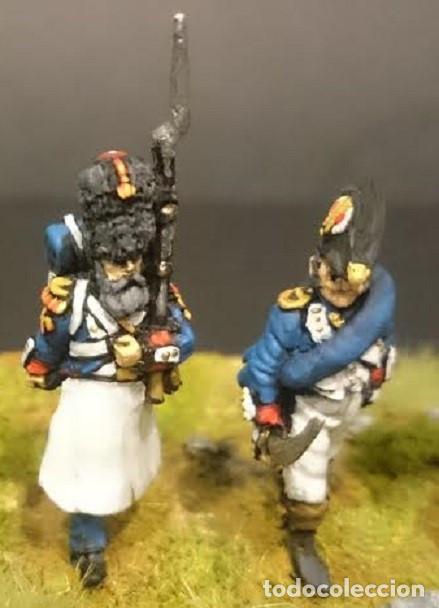 Maquetas: Conjunto de seis granaderos de infanteria de la guardia imperial. Pintados a mano. Metal blando. 28 - Foto 3 - 241478710
