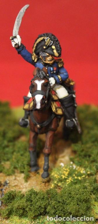 Maquetas: Comandantes de la guardia imperial napoleónica,1812. Figuras de metal blando pintadas a mano a escal - Foto 2 - 241480040