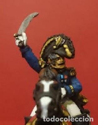 Maquetas: Comandantes de la guardia imperial napoleónica,1812. Figuras de metal blando pintadas a mano a escal - Foto 3 - 241480040