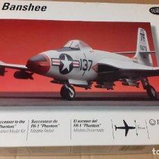 Maquetas: F 2 H BANSHEE, TESTORS 1/48. Lote 241725355