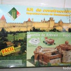 Maquetas: ANTIGUO KIT DE CONSTRUCCIÓN CASTILLO DE ÁREVALO.. Lote 241759475