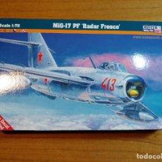 Macchiette: MAQUETA DE AVION MIG - 17 PF RADAR FRESCO ESCALA 1/72. Lote 241885770