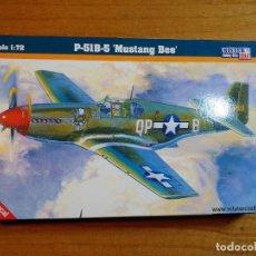 Macchiette: MAQUETA DE AVION P - 51B - 5 MUSTANG BEE ESCALA 1/72. Lote 241886435