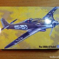 Macchiette: MAQUETA DE AVION FW - 190D - 9 RUDEL ESCALA 1/72. Lote 241896640