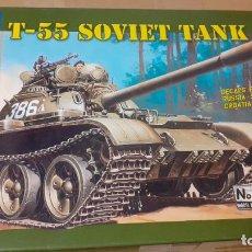 Maquetas: T 55 SOVIET TANK. ITALERI 1/35. Lote 241923170