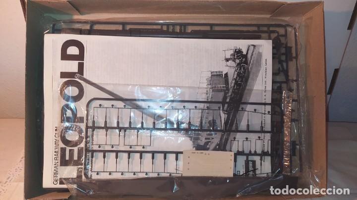 Maquetas: Leopold German Railway gun k5 Schlanke Bertha. Hasegawa 1/72. Nuevo, sin abrir. - Foto 3 - 242395745