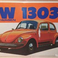 Maquetas: VOLKSWAGEN 1303S BANDAI SCALE 1/20. AÑO 1972. NUEVO, SIN ABRIR.. Lote 242398955