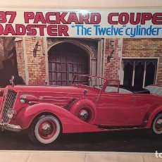 """Maquetas: 1937 PACKARD COUPE ROADSTER """"THE TWELVE"""" CYLINDER. BANDAI SCALE 1/16. NUEVO, SIN ABRIR.. Lote 242408495"""