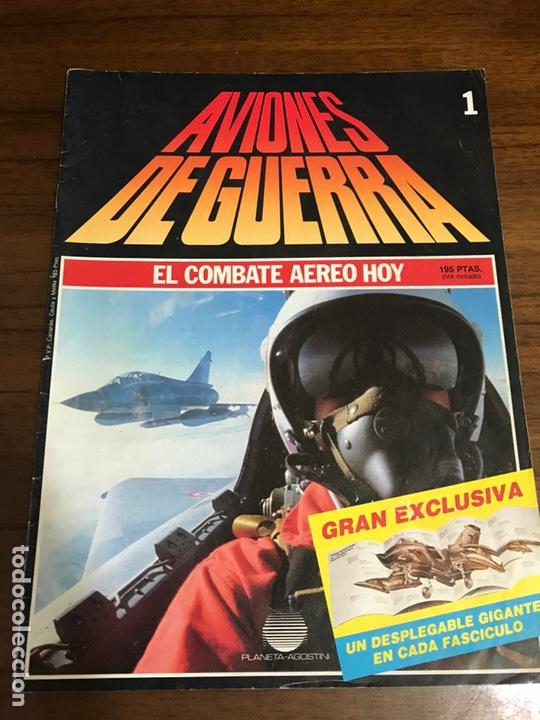 AVIONES DE GUERRA, EL COMBATE AÉREO HOY 1 (Juguetes - Modelismo y Radio Control - Maquetas - Aviones y Helicópteros)