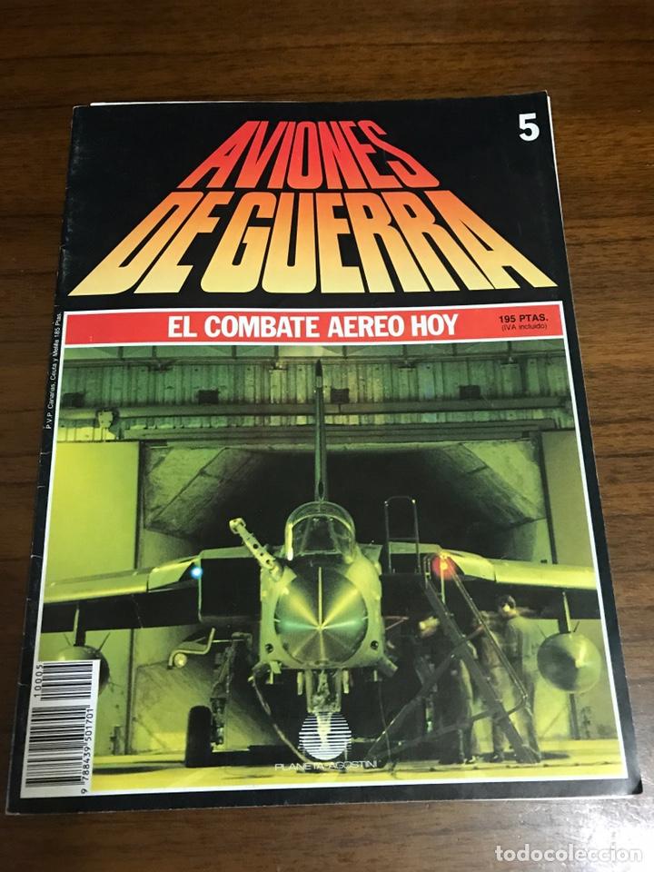 AVIONES DE GUERRA, EL COMBATE AÉREO HOY 5 (Juguetes - Modelismo y Radio Control - Maquetas - Aviones y Helicópteros)