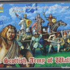 Maquettes: MAQUETA FIGURAS THE SCOTTISH ARMY OF WALLACE, REF. 0007, 1/72, STRELETS-R. Lote 242915055