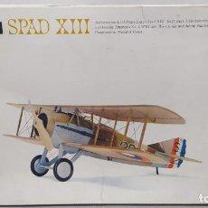 Maquetas: SPAD XIII H-290:200 REVELL AÑO 1969. NUEVO, NUNCA MONTADO.. Lote 243380330