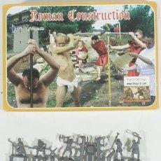 Maquettes: MAQUETA FIGURAS ROMAN CONSTRUCCION, REF. 004, 1/72, LINEAR (INCOMPLETA). Lote 243465080