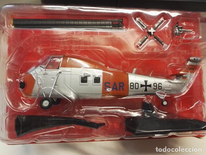 ALTAYA PLANETA AGOSTINI HELICOPTERO SIKORSKY H-34G ( GERMANY ) 1:72 NUEVO (Juguetes - Modelismo y Radio Control - Maquetas - Aviones y Helicópteros)