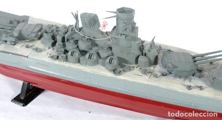 Maquetas: Maqueta de barco acorazado Yamato japonés segunda guerra mundial - Foto 3 - 243865540