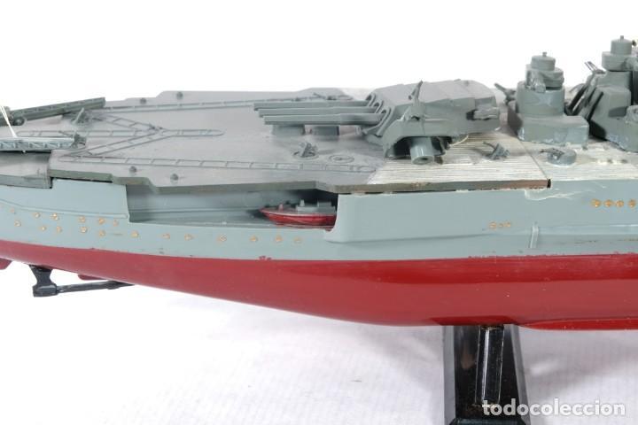 Maquetas: Maqueta de barco acorazado Yamato japonés segunda guerra mundial - Foto 6 - 243865540