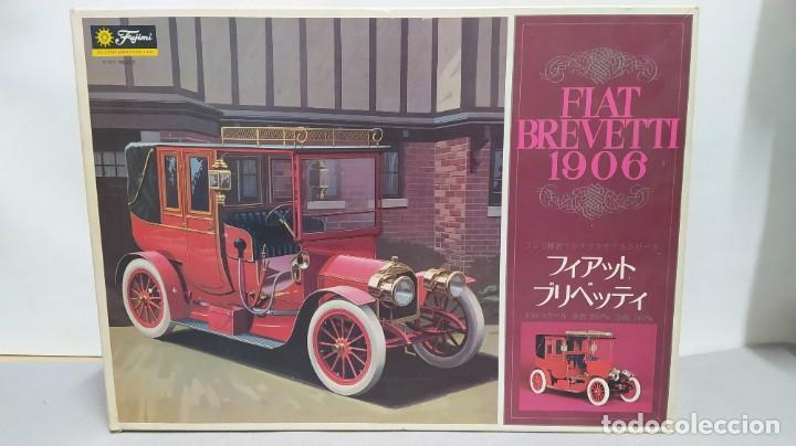 1906 FIAT BREVETTI FUJIMI ESCALA 1/16.NUEVO, TODO PRECINTADO. RAREZA (Juguetes - Modelismo y Radiocontrol - Maquetas - Coches y Motos)