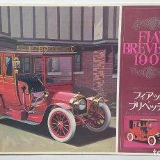 Maquetas: 1906 FIAT BREVETTI FUJIMI ESCALA 1/16.NUEVO, TODO PRECINTADO. RAREZA. Lote 243979680