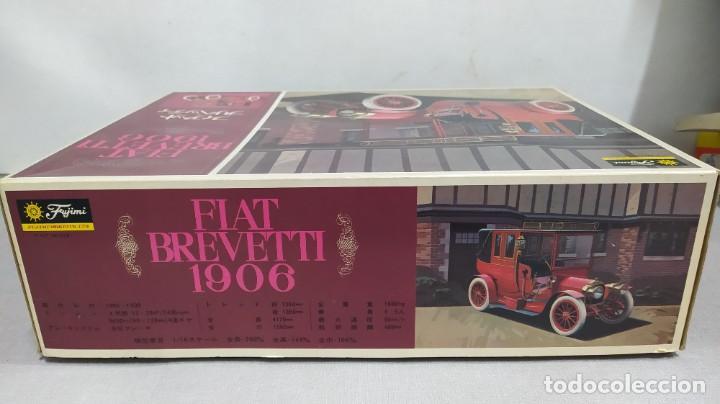 Maquetas: 1906 Fiat Brevetti Fujimi escala 1/16.nuevo, todo precintado. Rareza - Foto 2 - 243979680