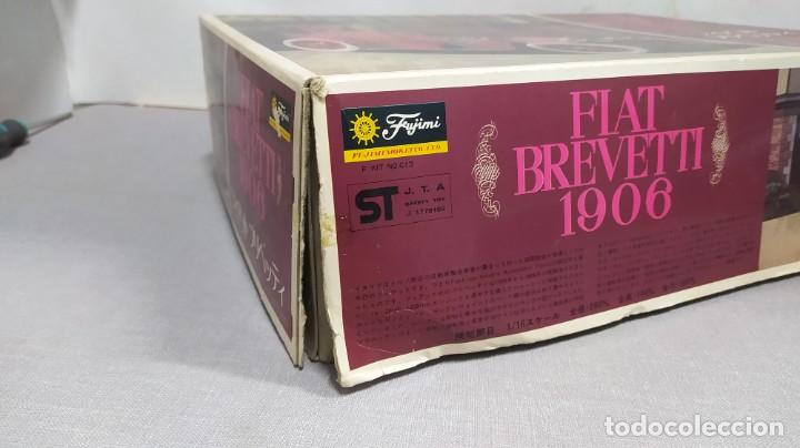 Maquetas: 1906 Fiat Brevetti Fujimi escala 1/16.nuevo, todo precintado. Rareza - Foto 3 - 243979680