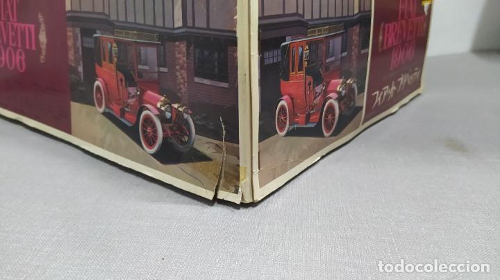 Maquetas: 1906 Fiat Brevetti Fujimi escala 1/16.nuevo, todo precintado. Rareza - Foto 4 - 243979680