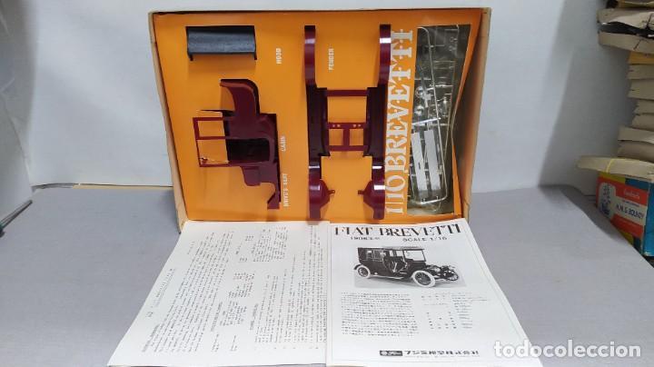 Maquetas: 1906 Fiat Brevetti Fujimi escala 1/16.nuevo, todo precintado. Rareza - Foto 5 - 243979680