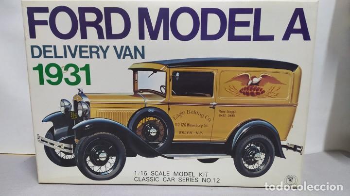 1931 FORD MODEL A DELIVERY VAN GAKKEN. ESCALA 1/16.NUEVO, TODO PRECINTADO. RAREZA (Juguetes - Modelismo y Radiocontrol - Maquetas - Coches y Motos)