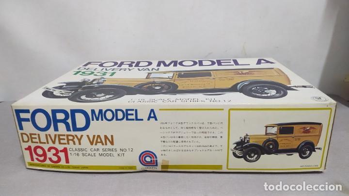 Maquetas: 1931 ford model a delivery van Gakken. escala 1/16.nuevo, todo precintado. Rareza - Foto 2 - 244019355