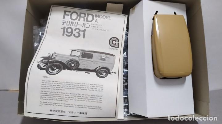Maquetas: 1931 ford model a delivery van Gakken. escala 1/16.nuevo, todo precintado. Rareza - Foto 3 - 244019355