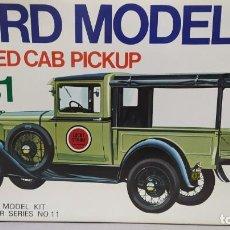 Maquetas: 1931 FORD MODEL A CLOSED CAB PICKUP GAKKEN. ESCALA 1/16.NUEVO, TODO PRECINTADO. RAREZA. Lote 244019635