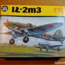 Maquetas: MAQUETA DE AVION IL - 2M3 ESCALA 1/72. Lote 244191440
