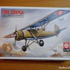 Maquetas: MAQUETA DE AVION LWS CZAPLA ESCALA 1/72. Lote 244191955