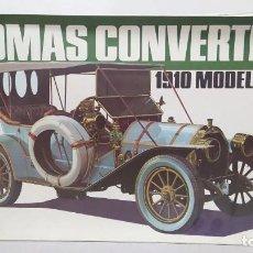 Maquetas: THOMAS CONVERTIBLE 1910 MODEL M6-40 BANDAI ESCALA 1/16. NUEVO, TODO PRECINTADO.. Lote 244496925