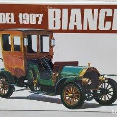 Maquetas: 1907 BIANCHI BANDAI ESCALA 1/16. NUEVO, TODO PRECINTADO.. Lote 244498535