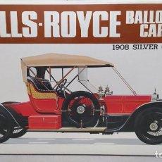 Maquetas: 1908 ROLLS ROYCE BALLON CAR BANDAI ESCALA 1/16. NUEVO, TODO PRECINTADO.. Lote 244499015