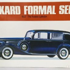 Maquetas: 1937 PACKARD FORMAL SEDAN THE TWELVE CYLINDER BANDAI ESCALA 1/16. NUEVO, TODO PRECINTADO.. Lote 244499695