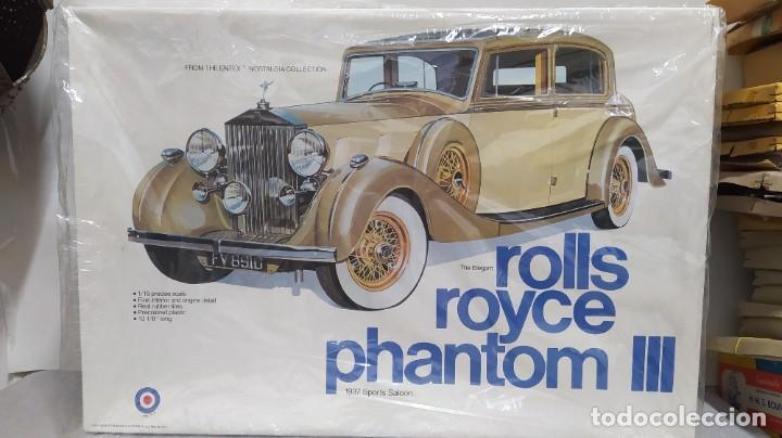 1937 ROLLS ROYCE PHANTOM III GAKKEN ESCALA 1/16. NUEVO, TODO PRECINTADO. (Juguetes - Modelismo y Radiocontrol - Maquetas - Coches y Motos)