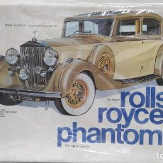 Maquetas: 1937 ROLLS ROYCE PHANTOM III GAKKEN ESCALA 1/16. NUEVO, TODO PRECINTADO.. Lote 244526995