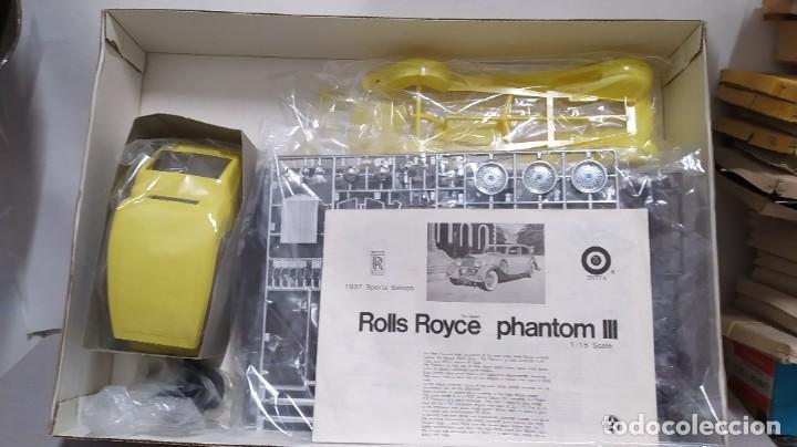 Maquetas: 1937 rolls royce Phantom III gakken escala 1/16. nuevo, todo precintado. - Foto 3 - 244526995