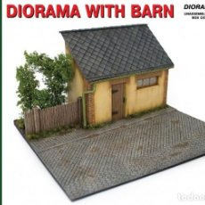 Maquetas: MINIART 35032 # DIORAMA WITH BARN. Lote 240624450