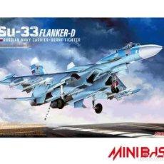 Maquetas: MINIBASE 8001 # 1:48 SU-33 FLANKER-D. Lote 277653623